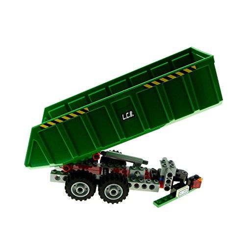Preisvergleich Produktbild 1 x Lego System Set Modell für Nr. 7998 Kippsattelzug grün L.C.B. LKW Anhänger City 57781 incomplete unvollständig