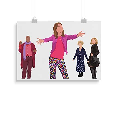 b04ddce46531 Unbreakable Kimmy Schmidt Inspiré Poster Print cadeaux - Alternative Séries  Télévisées Affiches en différentes tailles (