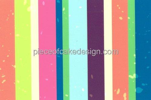 Vertikal farbigen Streifen ~ Essbar Bild Kuchen, Topper DecoPac/bakerycrafts (Decopac-kuchen)