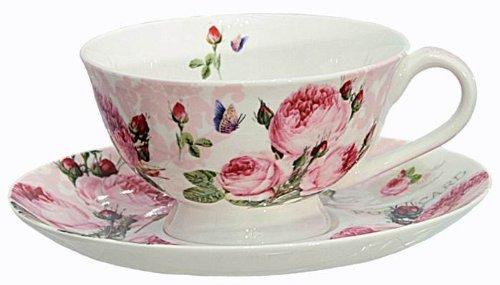 Nuova R2S R8692.283 Coffret P/T Thé Roses Romantiques