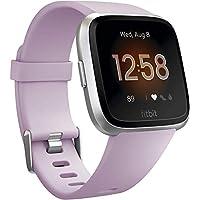 Fitbit FB415SRLV Versa Lite Smartwatch - Lilac/Silver Aluminium