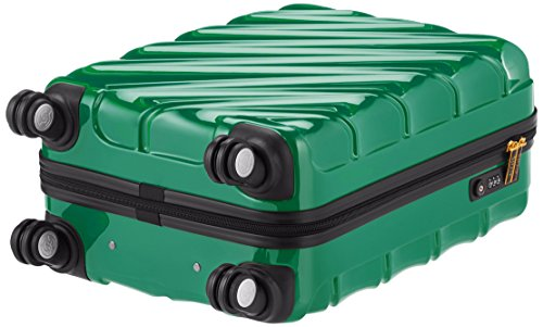Shaik 7203081 Trolley Koffer, Gr. M, grün -