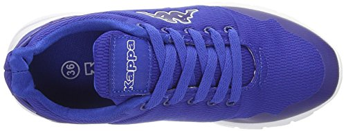 Kappa Unisex-Erwachsene New York Low-Top Blau (Blue/White)