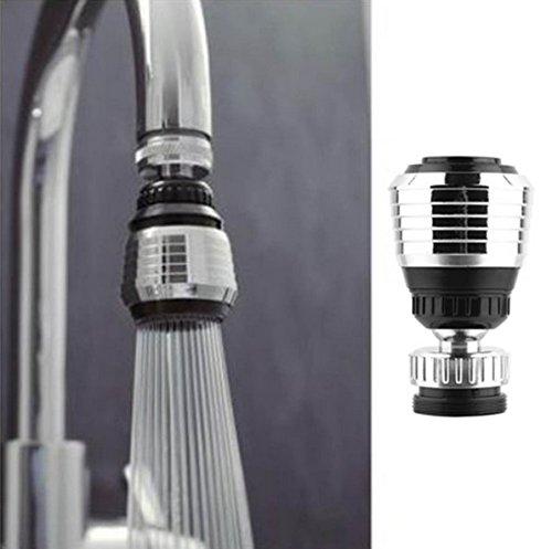 360Grad drehen Wasserhahn Erzeugung Filter Wasser Luftreiniger spart Wasserhahn Düse Luftsprudler Diffusor Küche Zubehör -