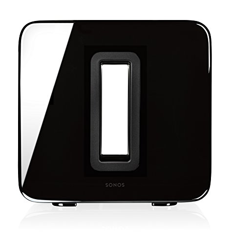 SONOS SUB Wireless Subwoofer, Gloss Black