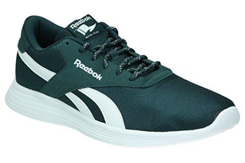 Reebok Royal Ec Ride, Chaussures de Sport Homme, Bleu gris - Gris (Forest Grey / White)