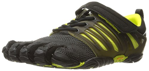 Vibram Five Fingers V-TRAIN, Scarpe Sportive Uomo, Nero (Black/Green), 47 EU