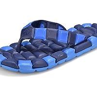 NTX/Herren Schuhe Casual Gummi Hausschuhe blau/gelb/rot