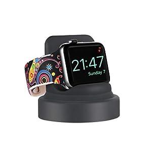 Dkings Ladegerät Conversion Dock Stand Bracket-Halterung für Apple Watch Series 4/3/2/1 Ladegerät Conversion Dock Stand Bracket-Halterung für Apple Watch Series 4/3/2/1