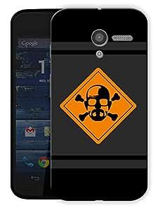 "Humor Gang Heisenberg Danger Printed Designer Mobile Back Cover For ""Motorola Moto X"" (3D, Matte Finish, Premium Quality, Protective Snap On Slim Hard Phone Case, Multi Color)"