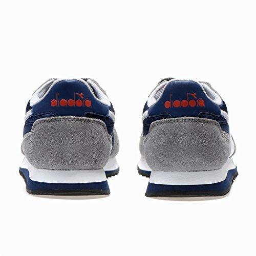 Diadora Unisex-Erwachsene Malone Niedrige Sneaker Blau