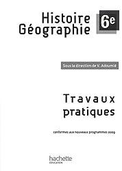 Histoire Géographie 6e : Travaux pratiques