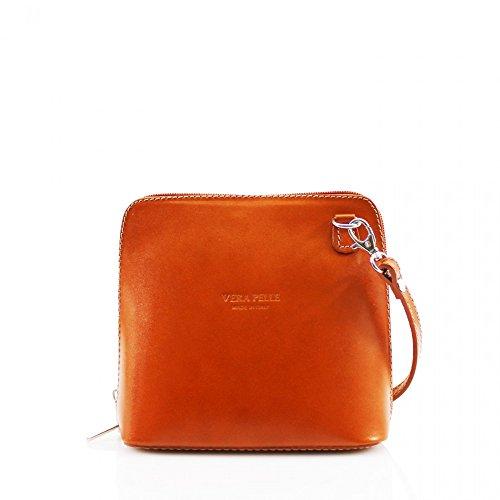 Da donna Fashion Designer piccola borsa a tracolla in pelle italiana di qualità cwv0026 CAMEL