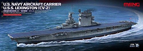 Meng PS-002Modelo 1: 700-USS Lexington (CV-2)-Portaaviones