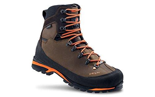 CRISPI SPORT Zapatos de Caza Para Hombre Marrón BrownOrange Marrón Size: 42 EU