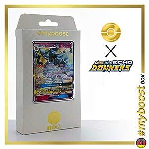Alola-Vulnona-GX (Ninetales de Alola- GX) 132/214 - #myboost X Sonne & Mond 8 Echo Des Donners - Box de 10 Cartas Pokémon Alemán