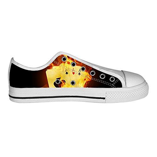 Dalliy feuer feuer Men's Canvas shoes Schuhe Lace-up High-top Sneakers Segeltuchschuhe Leinwand-Schuh-Turnschuhe D