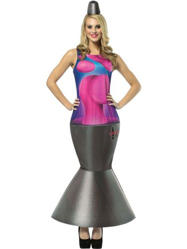 Adult Lava Lamp Costume (Women: One Size, ()