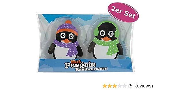 Handw/ärmer 2er Pack Taschenw/ärmer Panda Taschenheizkissen Wichtelgeschenk