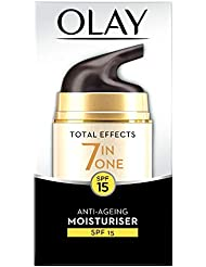 Olay Total Effects 7-in-1 Anti-Ageing Day Moisturiser with SPF15, 50 ml