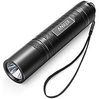 Anker LC40 Taschenlampe Praktische LED Taschenlampe, Superhell 400 Lumen Cree LED, IP65 Wasserfest, 3 Einstellungen Hell/Niedrig / Blinkfunktion für Campen, Wandern, Fahrradfahren und Notfälle