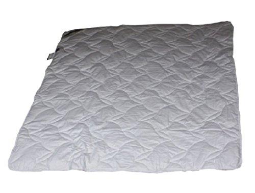 Baumwolle leichte Baby Sommerdecke Sommerbett 80x80 waschbar 100% Natur