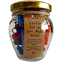 Little Jar of Get Well Soon - Thoughtful Gift - Unique Present - Artisan Handcrafted Gift