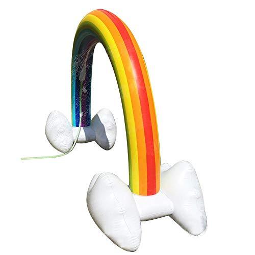 ares Sommer Sprinkler Spielzeug, Regenbogen-Yardfloss-aufblasbares Pool-Party-Spielzeug Für Heißes Sommer-Schwimmen-Partei-Strand-Pool-Spiel. ()