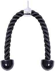 KYLIN SPORT Corde Triceps Corde de Traction Musculation Tricepes Bicepes Accessoire de Tirage Pour Appareil à Poulie