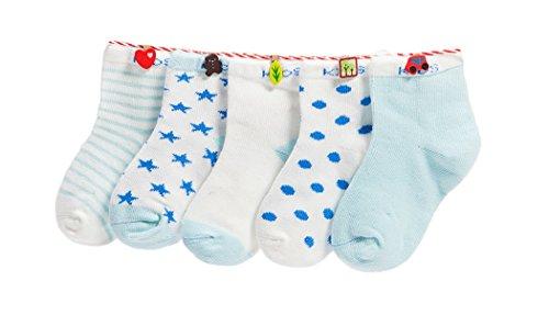 DEBAIJIA Niños Niñas Calcetines De Algodón Cómodo Suave...
