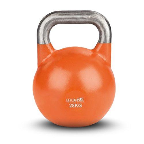 Lex Quinta Competition Kettlebell - die Wettkampf Kugelhantel - 28kg orange
