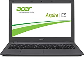 Acer Aspire E5-574G-57Z1 39,62 cm (15,6 Zoll Full HD) Notebook (Intel Core i5-6200U,  8GB DDR3L RAM, 512GB Solid-State-Drive (SSD), NVIDIA GeForce 940M, DVD, Win 10 Home 64 Bit) schwarz/grau