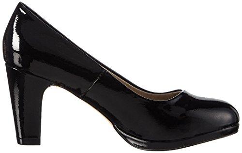 Another Pair of Shoes PatriciaaE1, Damen Plateau Pumps Schwarz (Black01)