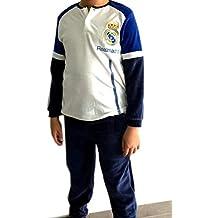 Pijama Real Madrid Adulto Invierno Tejido Terciopelo (L) 299c2d8d47790