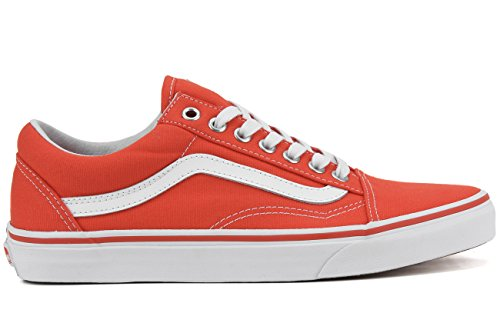 Vans - Old Skool Canvas - Cherry Tomata/True White (canvas) Cherry Tomato/true White