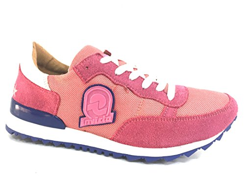 Invicta Classica, Sneaker a Collo Basso Unisex-Adulto Corallo