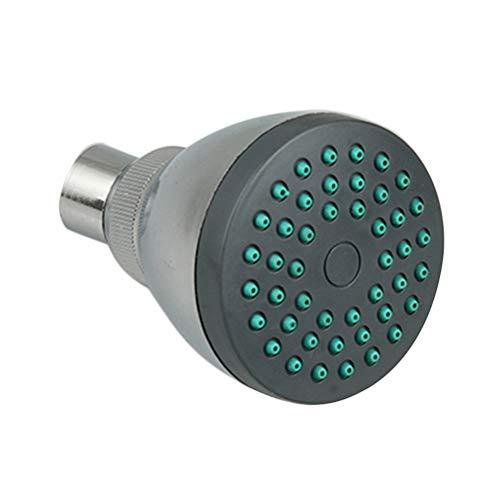 TOPBATHY Duschkopf Hochdruckverstärkung Rundes Badezimmer Kleiner Duschkopf Regenduschkopf für Low-Flow-Duschen