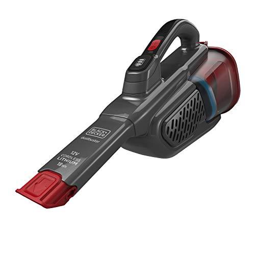BLACK+DECKER BHHV315J-QW - Aspirador de mano sin cable 12V 1.5Ah, 700ml