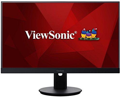 ViewSonic VG2765 27-inch WQHD Frameless IPS-Type Monitor (2560 x 1440 HDMI DisplayPort Mini DisplayPort UBS Speakers ) - Black