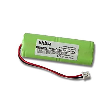 vhbw Akku passend für Dogtra Receiver Dogtra Sender 600 NC, 620 NC, 622 NCP, 800 NCP.