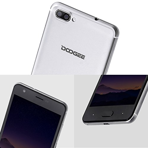 Moviles Libres Baratos  DOOGEE X20L Smartphone Libre  5 0 Pantalla HD IPS - 4G Android 7 0 Telefonos - MT6737 4xCortex-A53  1 25GHz - 2GB RAM 16GB ROM
