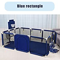 lijunjp Baby Playpen, Indoor Outdoor Kids Safety Play Space, Learning to Walk, Puzzle Game Center, Anti-collision Safety fence, for Children from 6 to 36 Months