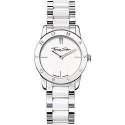 "Thomas Sabo Watches, Damenuhr ""SOUL"", Edelstahl; Keramik, WA0146-210-202"
