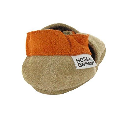 HOBEA-Germany , Chaussures souples pour bébé (fille) cars on tour 16/17 (0-6 Mon) Waldtiere