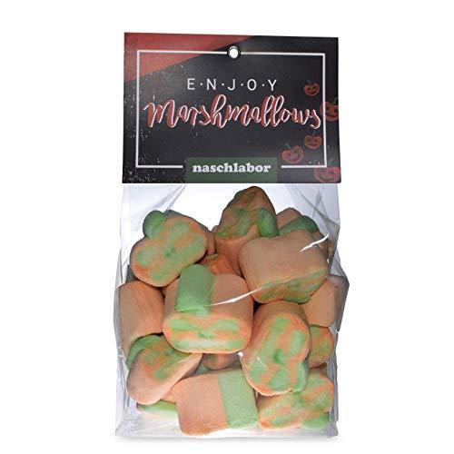 Halloween Marshmallows von Naschlabor - Die perfekten Süßigkeiten für deine Halloween Tüten - Geschenk für Kinder