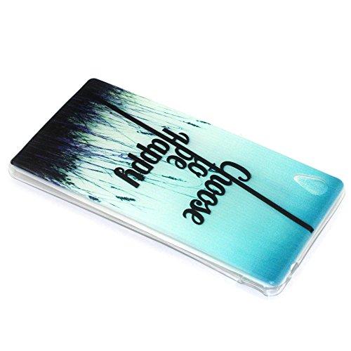 Voguecase® Per Apple iPhone 5 5G 5S, Custodia Silicone Morbido Flessibile TPU Custodia Case Cover Protettivo Skin Caso (Pinguino con palloncini) Con Stilo Penna be Happy 05