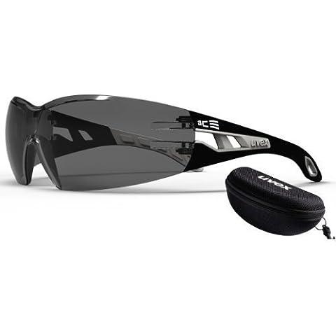 Uvex Pheos - Gafas protectoras y de sol con funda