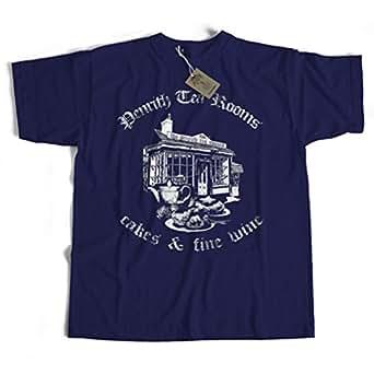 Penrith Tea Rooms T Shirt by Old Skool Hooligans (Ladies XL)
