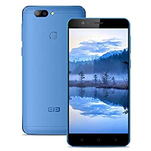 Elephone P8 mini Smartphone, 5.0 Pollici FHD IPS Display Android 7.0 4G Telefono Cellulari, MTK6750T Octa Core 1.5GHz, 4GB RAM + 64GB ROM, 16.0MP AF+13.0MP Rear Camera, Dual Sim, WiFi Hotkont Fingerprint Sensor GPS OTG Cellulare- Blu