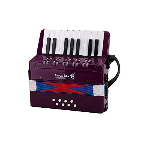 Kleines pädagogisches Instrument mit 17 Bässen und 8 Bässen zum Spielen mit einem Anfängergeschenk für Kinder (in 7 Farben erhältlich)-B